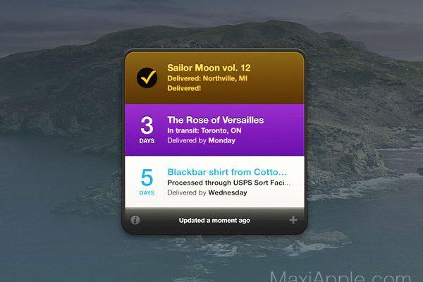 delivery status macos mac gratuit 1 600x400 - Delivery Status Mac - Widget de Suivi de Colis Postaux (gratuit)