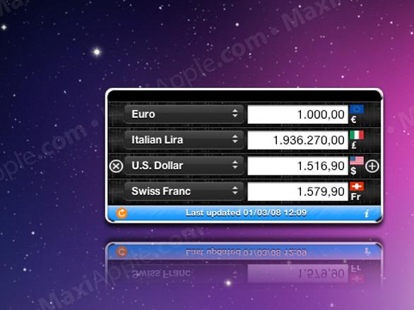 Currency Converter Mac OSX - Currency Converter Mac OSX : Convertisseur de Devises (gratuit)