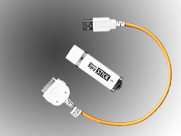 iPhone Spy Stick USB 2 iPhone Spy Stick : Une Cle USB pour Espionner (images)