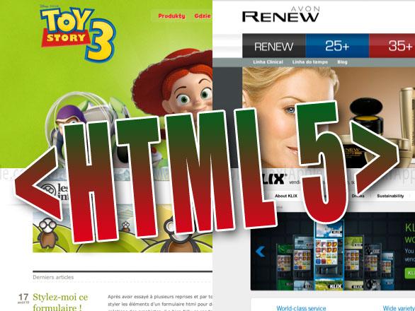 html 5 sites - 55 Excellents Sites Web en HTML5