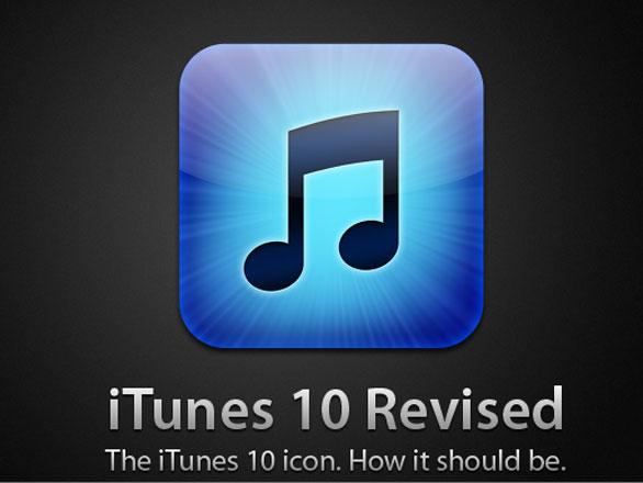itunes 10 icons new iTunes 10 Mac et PC : 10 Magnifiques Icones (gratuit)