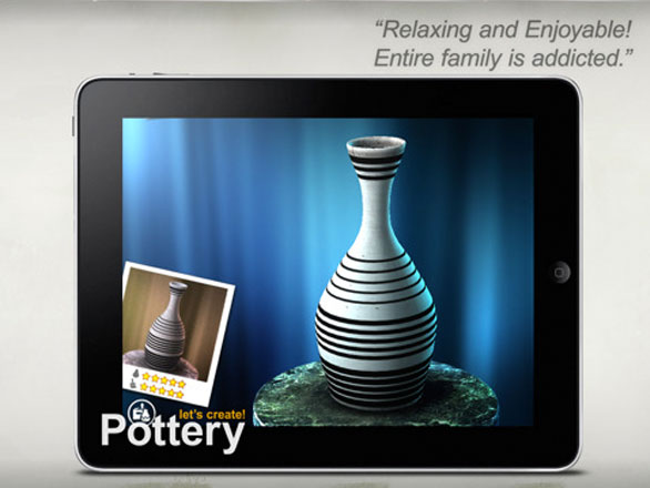 Create Pottery HD iPad 1 Create Pottery iPhone iPad : Votre Veritable Atelier de Potier (video)