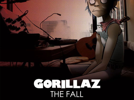 gorillaz the fall ipad Gorillaz The Fall : Un Album Produit sur iPad (video)