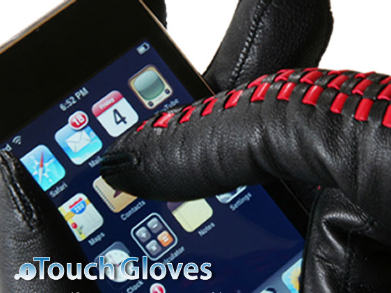 iitouch gloves iphone 1 iTouch Gloves  : Gants de Luxe pour iPhone et Smartphones (video)