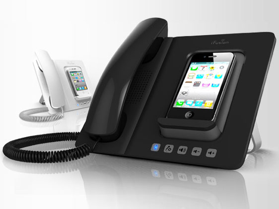 dock ifusion iphone telephone fixe multifonctions bluetooth