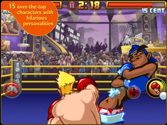 Super KO Boxing 2 iPad iPhone Super KO Boxing 2 iPad iPhone iPod Touch : Excellent Jeu de Boxe (gratuit)