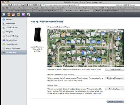 Localiser Iphone Depuis Pc