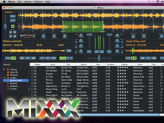 table de mixage mac os x