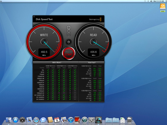 BlackMagic Disk Speed Test Mac OSX BlackMagic Disk Speed Test Mac OSX : Verifier Vos Disques Durs (gratuit)