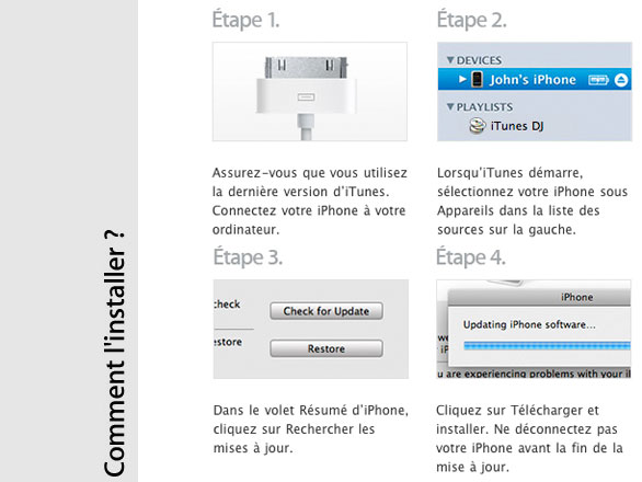 ios 4 2 firmware 2 Mise à Jour iOS 4.3.3 iPhone, iPad, iPod Touch Disponible (gratuit)