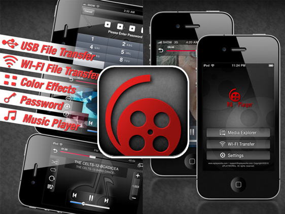 AVPlayer iPhone AVPlayer iPhone iPad : Lecteur Video DivX AVI WMV ASF MKV (video)