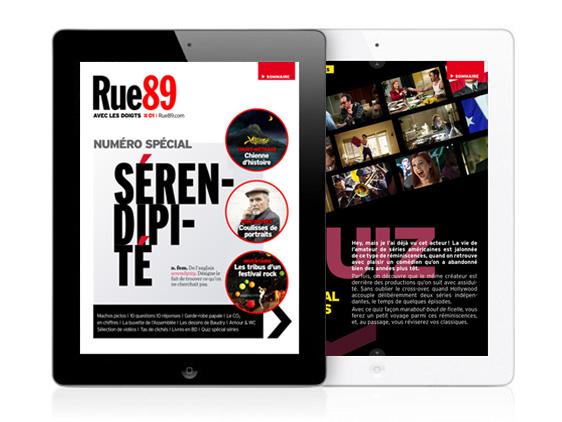 rue89 ipad - Rue89 enfin pour iPad et iPhone Bien Sur (gratuit)