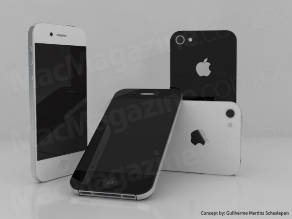 07 iphone5conceito03 600x450 Un Mockup iPhone 5 Etonnant de Realisme (images)