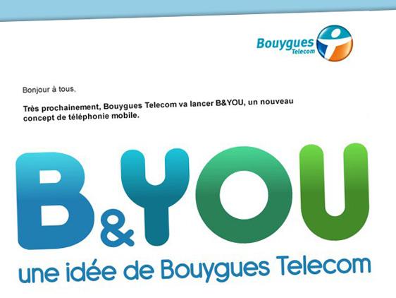 Forfaits Bouygues BYOU Forfaits Bouygues B&YOU : Appels Illimités Sans Engagement à 24,90 Euros