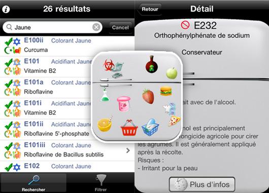 iadditifs iphone - iAdditifs iPhone : Additifs Alimentaires, Casher, Halal (gratuit)