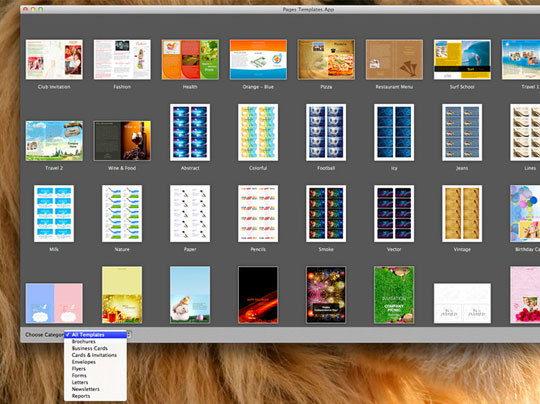 Pages For Mac Templates. pages templates mac osx 100 modeles pros ...