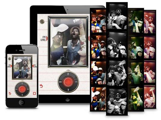 incredibooth iphone ipad 3 - IncrediBooth iPhone iPad : Photomaton aux Effets Retro (gratuit)