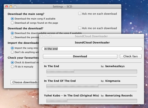 Soundcloud Downloader Mac OSX 2 Soundcloud Downloader Mac OSX : Telecharger les Musiques en MP3 (gratuit)