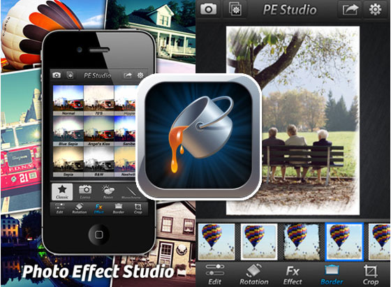 Photo Effect Studio iPhone Photo Effect Studio iPhone : Retouche Photo et Effets Illimités (gratuit)