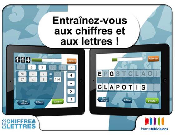 Des Chiffres et des Lettres HD iPhone iPad Des Chiffres et des Lettres HD iPhone iPad : Le Jeu Télé (gratuit)