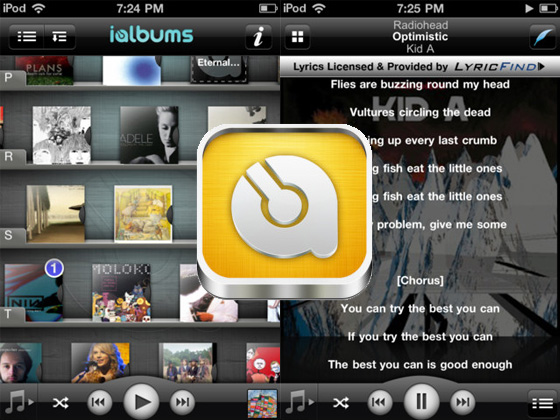 ialbums iphone iAlbums iPhone : Tout savoir sur vos Musiques Paroles, Photos, Video... (gratuit)