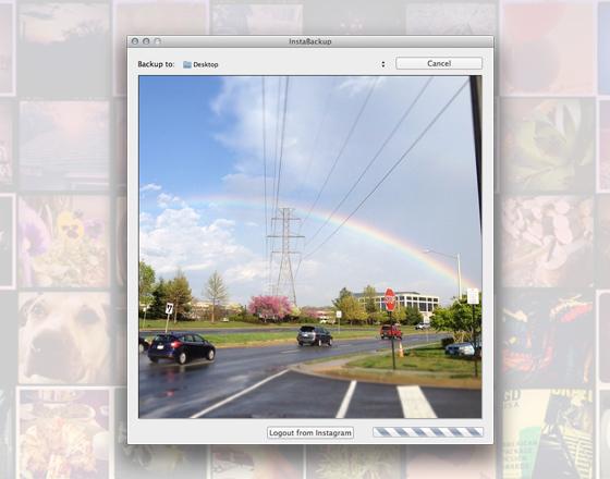 InstaBackup Mac OSX InstaBackup Mac OSX : Sauvegarder vos Photos Instagram (gratuit)