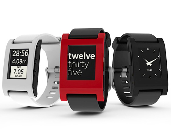 Pebble Watch Montre iPhone 1 Pebble Watch : Une Montre pour Contrôler votre iPhone