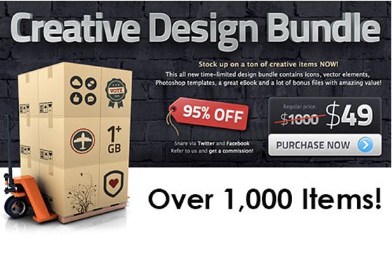 creative design bundle mac osx Creative Design Bundle Mac PC : 1000 Ressources Graphiques Pros pour 49 $ (promo)