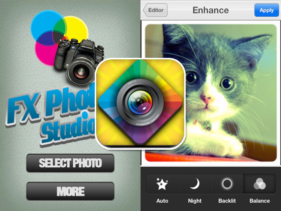 FX Photo Studio Pro iPhone iPad 1 FX Photo Studio Pro iPhone iPad : Retouche Photo et Effets Speciaux (gratuit)
