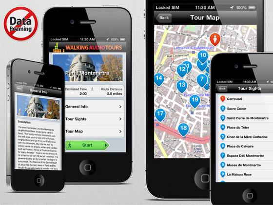 Ulmon 2Go iPhone et iPad 1 - Ulmon 2Go iPhone et iPad : 40 Guides de Voyages avec Voix (gratuit)