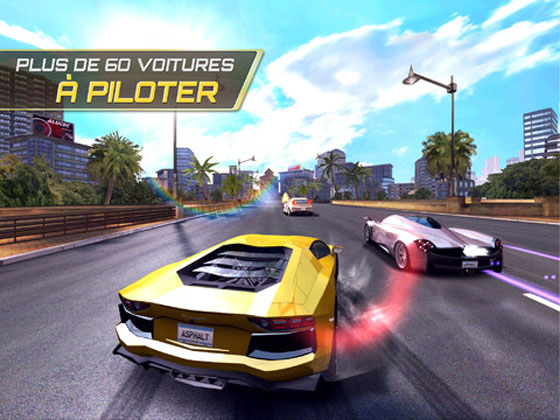 asphalt 7 heat ios 1 Asphalt 7 Heat iPhone iPad : Excellent Jeu de Voiture en 3D (video)
