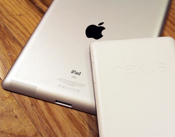 ipad 3 vs nexus 7 1 - [TEST] iPad 3 vs. Nexus 7 : le Drop Test !