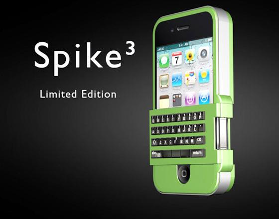 Protection iPhone SoloMatrix Spike avec Clavier Physique (video ...