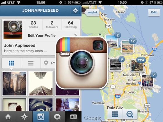 comment localiser sur instagram