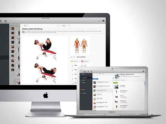 All-In Fitness Mac OSX : Coach Fitness et Yoga avec Video HD (gratuit)