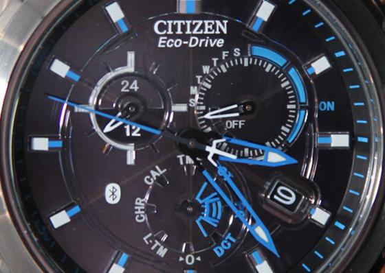 citizen eco drive proximity montre watch 2 - Citizen Proximity Eco-Drive : Montre Analogique Bluetooth pour iPhone (images)
