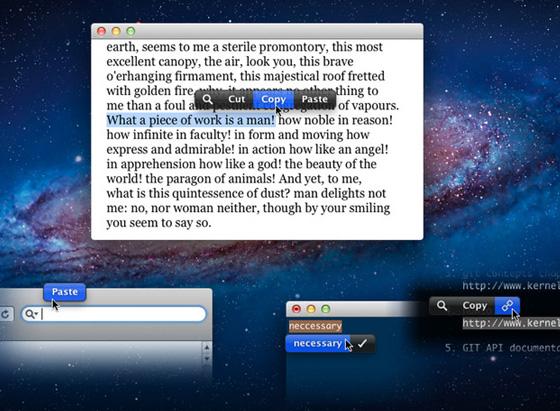 Logiciel PopClip pour Mac OSX