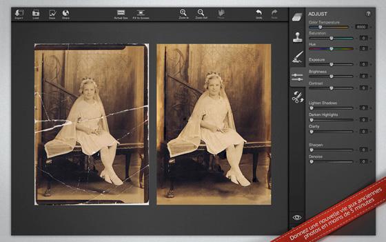 logiciel retouche photo gratuit pour mac