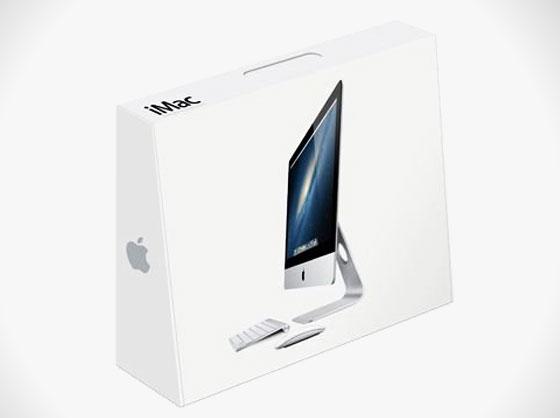 imac 2012 new boxing boite carton - iMac 2012 à Ecran Extra Plat : Nouveau Carton d'Emballage