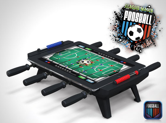 1 Babyfoot Classic Match Foosball iPad Classic Match Foosball : Transformer un iPad en Kicker Mini Baby Foot Physique (images)