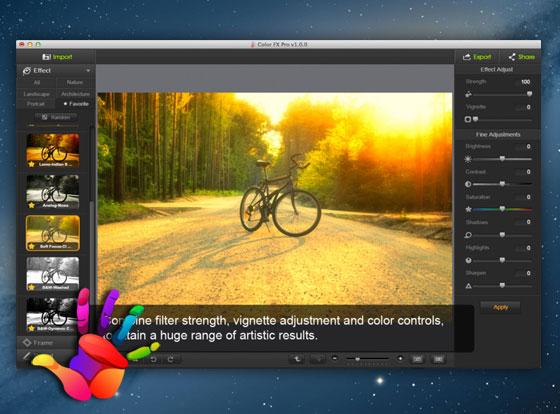 Color FX Pro Mac OSX