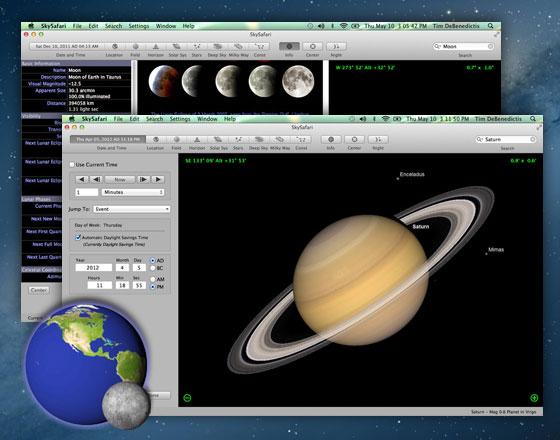 logiciel astronomie mac