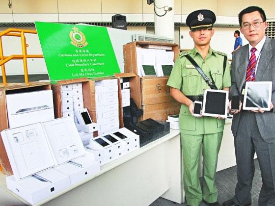 Contrebande iPhone 5 et iPad : Prise Importante en Chine (vidéo)