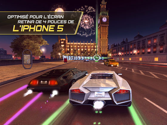 2 Asphalt 7 Heat iPhone iPad Asphalt 7 Heat iPhone iPad : Spectaculaire Jeu de Course Automobile (gratuit)