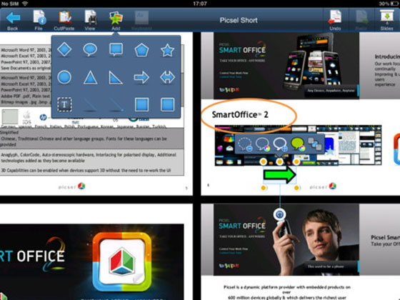 2 Smart Office 2 iPhone iPad Smart Office 2 iPhone iPad : Éditer vos Documents Word, Excel, PowerPoint (gratuit)