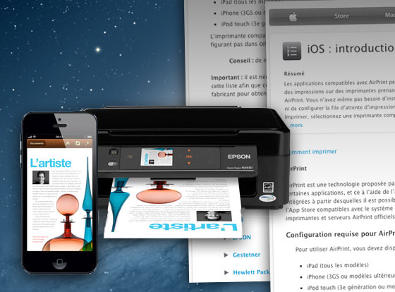 Liste des Imprimantes WiFi Compatibles Apple AirPrint Mac ou PC (16/11/2012)