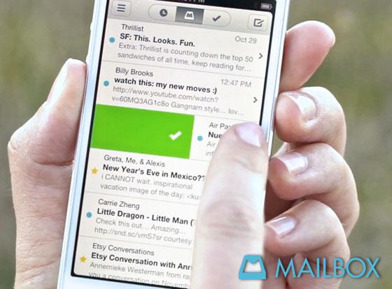 Orchestra MailBox iPhone : Sérieuse Alternative à Sparrow (video)