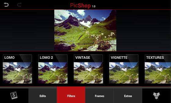 PicShop HD iPhone iPad - Retouche Photo pour Images Haute Définition (gratuit)