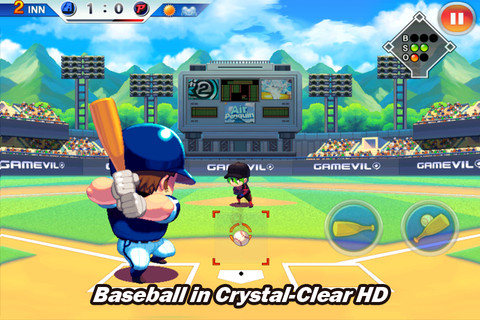 Baseball Superstars 2012 - Baseball fun au style manga