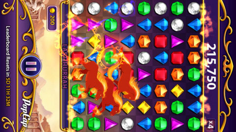 Bejeweled Blitz : un Tetris en diamants